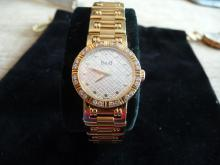 LADIES PIAGET DANCER DIAMOND 18K BRACELET WATCH