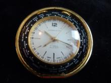 RARE TIFFANY & CO WORLD TRAVEL ALARM WATCH