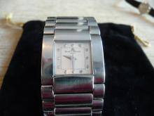 LADIES BAUME & MERCIER DIAMOND CATWALK BRACELET WATCH