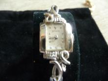 LECOULTRE 18K DIAMOND WATCH