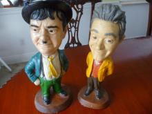 LAUREL & HARDY, COMEDY LEGENDS FIGURINES
