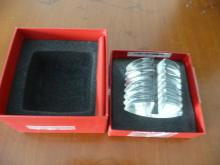 BACCARAT CRYSTAL BUSINESS CARD HOLDER-NIB
