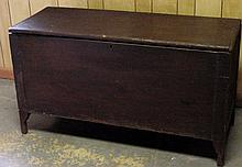 1850s Walnut Pegged Blanket Chest