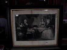 19th Cent. Washington Family Engraving