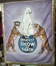 The Greatest Show On Earth Circus Banner