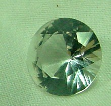 5.02 Ct. Loose White Topaz 1930s Sri Lanka