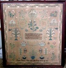 1824 Susanna Thomas Penn. Sampler