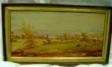 Thomas Campbell East Tenn Oil Painting