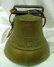 1953 John Stotzer Brass Swiss Bell