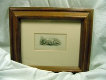 Jas D Smillie 1861 Ship Engraving