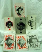 7 1950s Western Star Cards McQueen