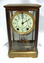 Seth Thomas Crystal Regulator Clock