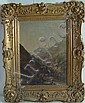 Walter Oddie 1848 Hudson River Painting, Walter Mason Oddie, Click for value
