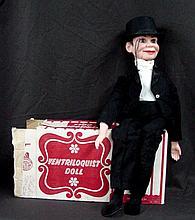 Charlie McCarthy Ventriloquist Doll by Juros