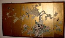 Oriental Screen 6 Panel