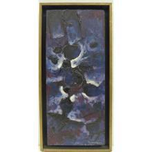 Graham Cantieni (Australia 1938 - ) Framed Oil Painting - Cosmological Them