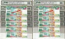 Singapore 'Bird' $5 banknotes