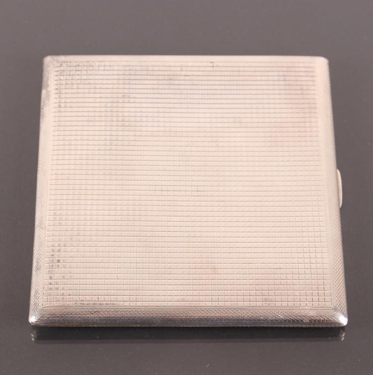 Dunhill Sterling Silver Cigarette Case