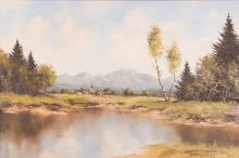 Kurt Mozer German Landscape Painting