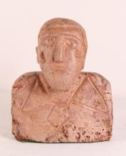 Yaqui Indian Soapstone Folk Sculpture