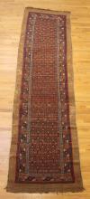 Large Antique Oriental Runner Rug