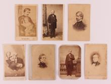 Seven Civil War Related Cabinet Cards