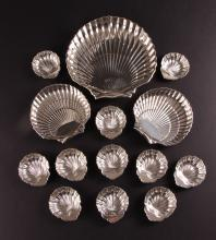Sterling Silver Shell Themed Group