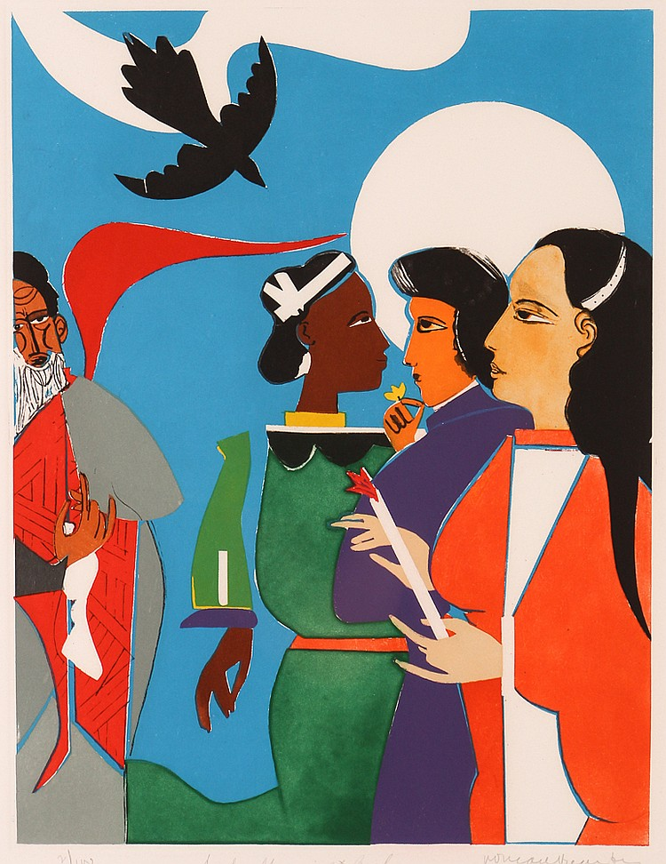 Pintura: ROMARE BEARDEN (1911 - 1988)