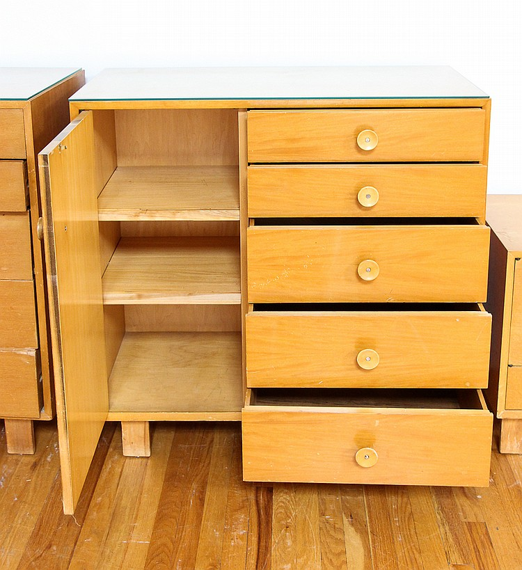 George Nelson Bedroom Set With Cupcake Pulls