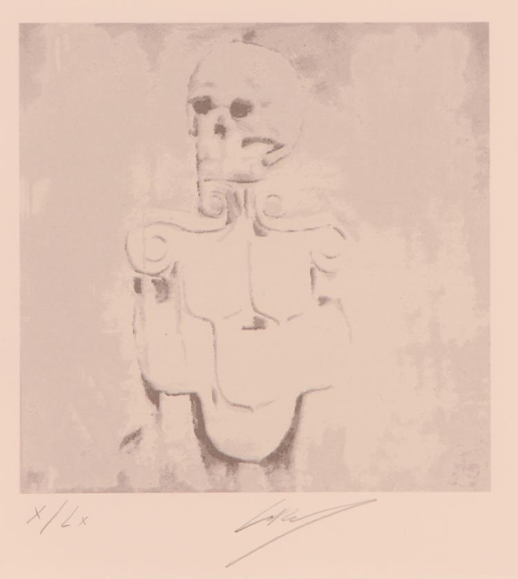 Luc Tuymans  2010 original serigraph