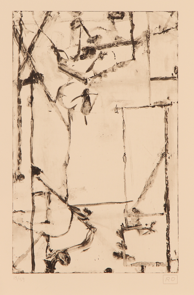 Richard Diebenkorn original lithograph