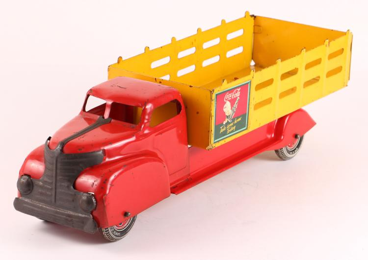 Marx Sprite Boy Coca-Cola Toy Truck, circa 1945