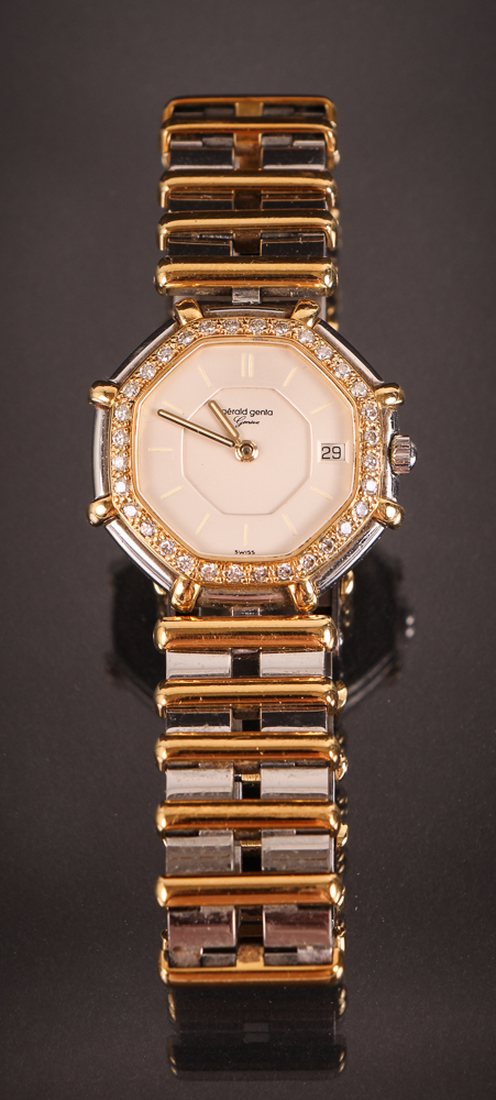 Gerald Genta Diamond, Gold & stainless