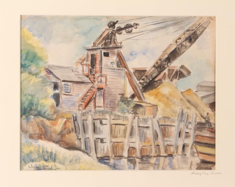Milton Weiss 1940 w/c