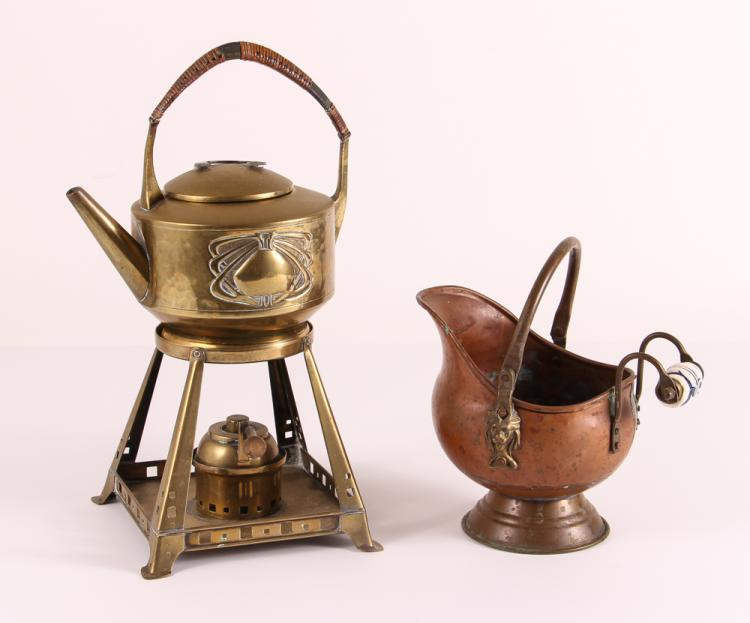 Dutch Creamer & Art Deco Kettle & Burner
