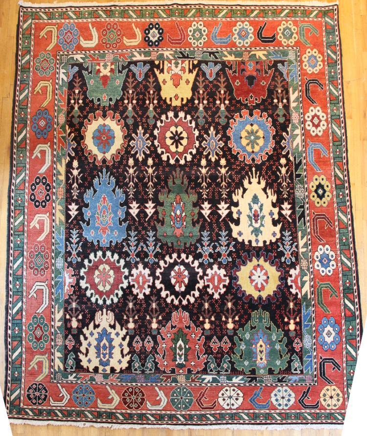 Tibetan style area rug