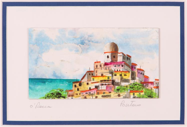 2 Views of Positano by O'Rocca