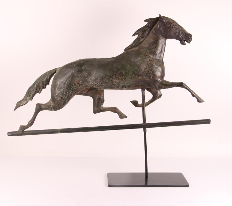 Fiske Copper and iron Trotter WEATHERVANE