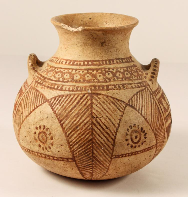 Luristan Vase with Geometric Band Pattern, 2nd Millennia BC