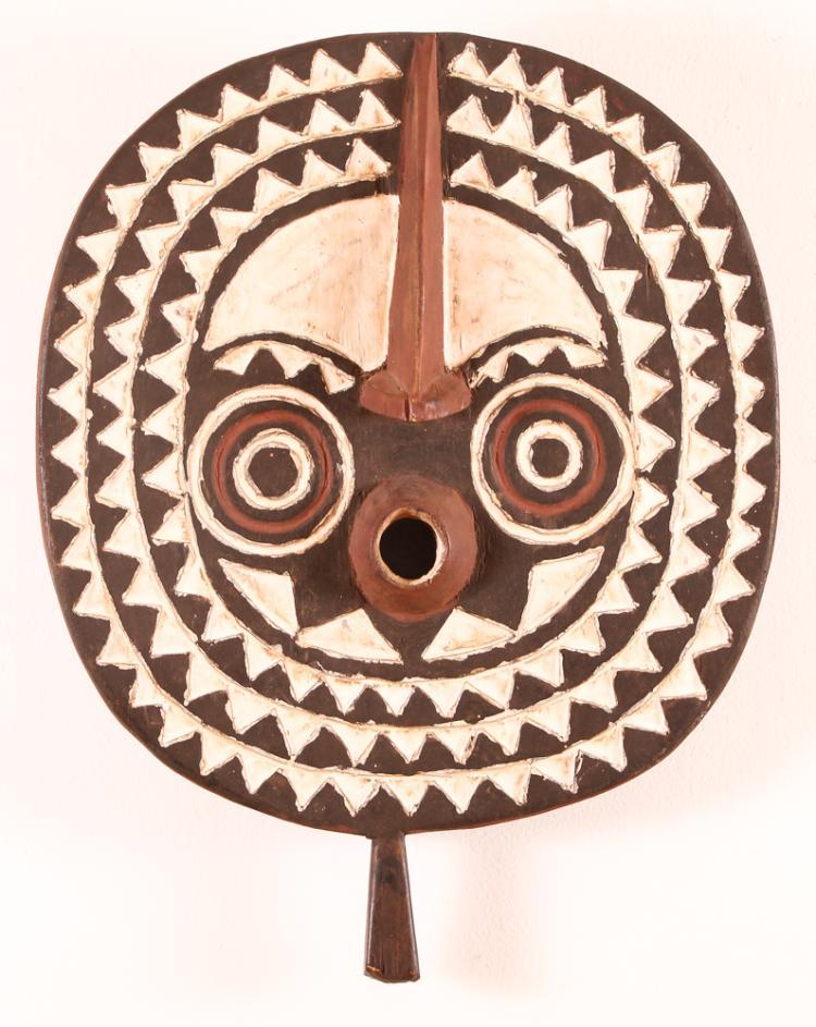 African Bwa Tribal Wood Mask