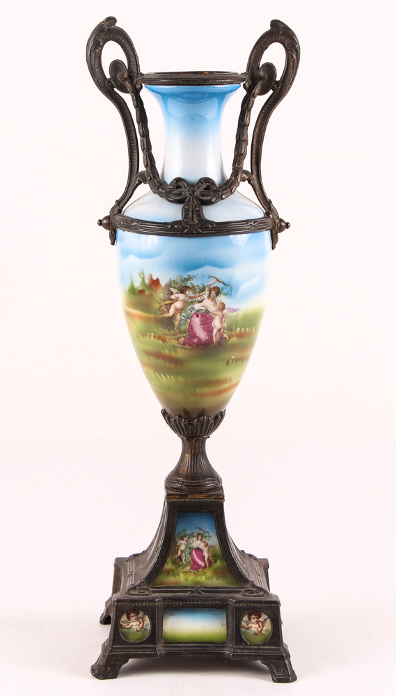 Sevres or Sevres Style Urn