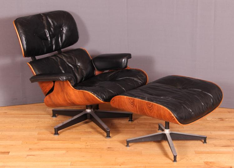 Eames Lounge Chair & Ottoman for Herman Miller