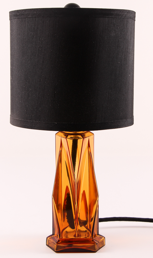 Electrified Kopp Glass Vase Lamp