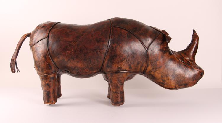 Dmitri Omersa A&F Leather Rhino, England