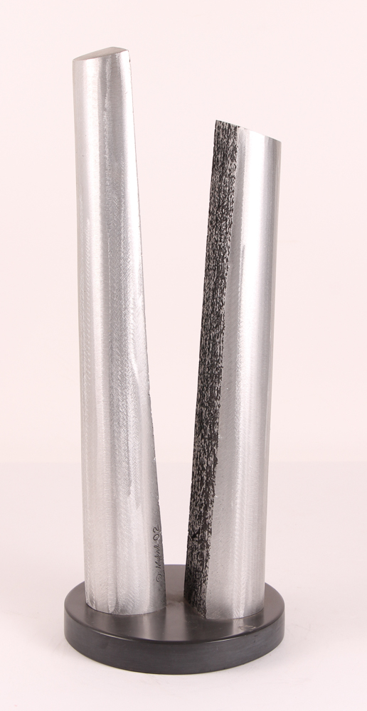 Jame Myford Aluminum Sculpture