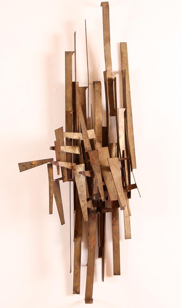 Marc Weinstein Brutalist Wall Sculpture