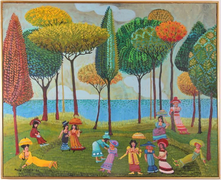 Napoleone Bizzarri 1964 painting.