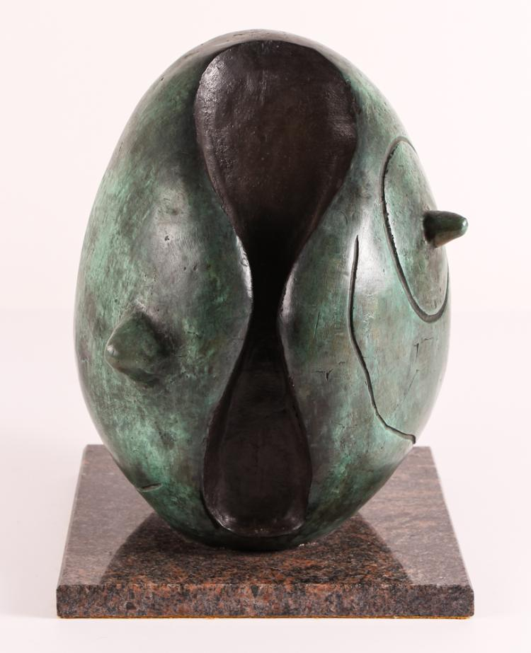 After Miro Bronze Sculpture Conch 5/9 1972