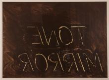 Bruce Nauman 1974 lithograph