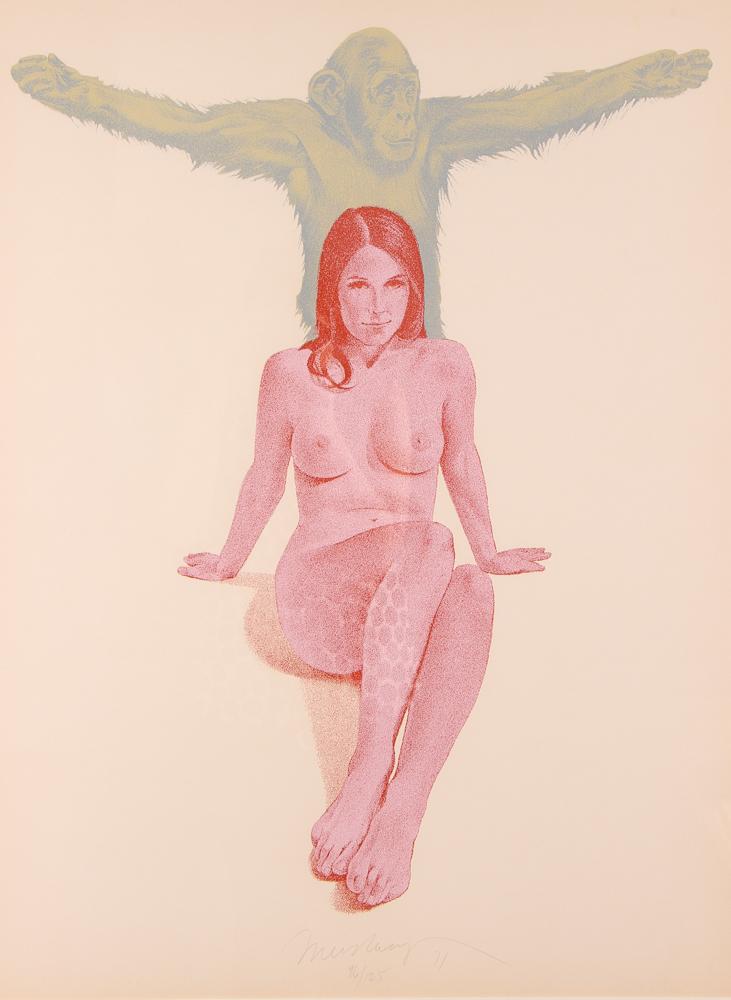 Mel Ramos 1971 orig serigraph